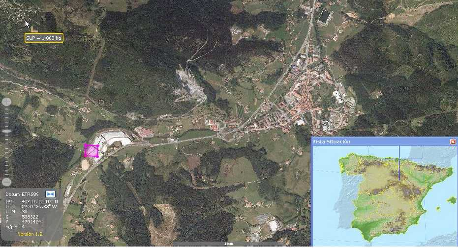 Mapa Markina